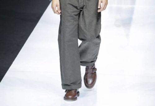 Туфли-монки Giorgio Armani