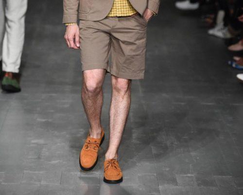 туфли с шортами