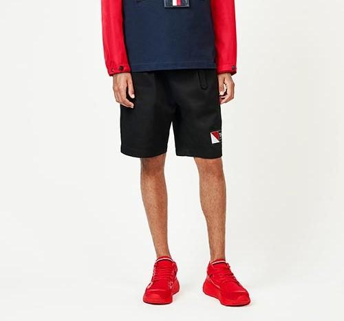 Красные кроссовки Tommy Hilfiger