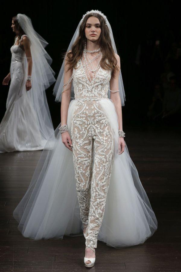 Свадебный костюм невесты весна-лето 2019