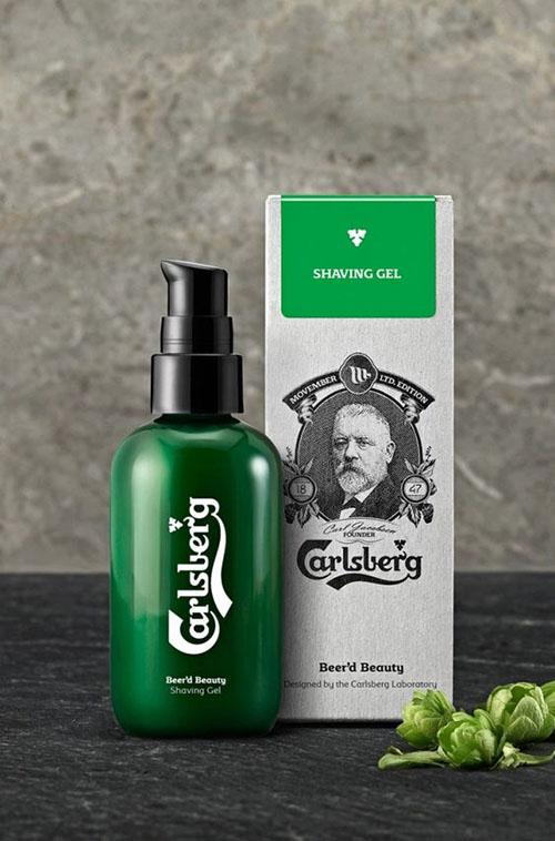 Гель для бритья Carlsberg