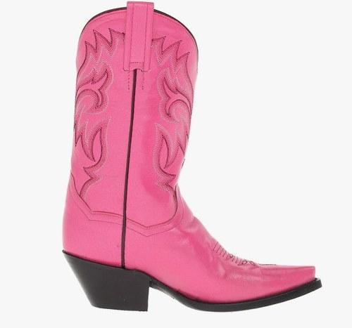 Розовые женские сапоги