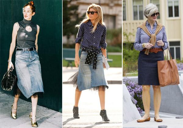 Юбки для женщин среднего возраста