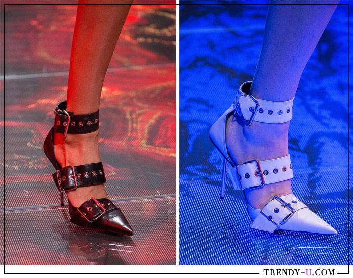 Туфли с острым носком от Balenciaga