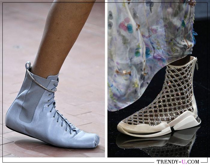 Обувь в спортивном стиле от Jil Sander и Giorgio Armani SS 2019