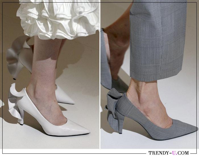Стильные туфли-лодочки из коллекции Max Mara весна-лето 2019