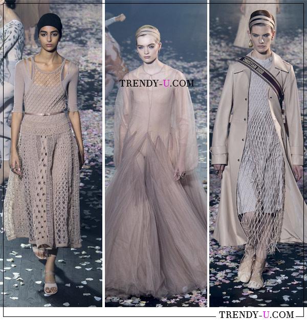 Образы из весенне-летней коллекции Christian Dior SS 2019