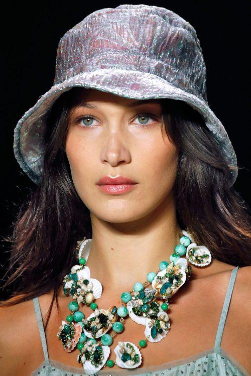 Белла Хидид макияж