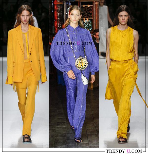 Женская деловая одежда от Boss и Peter Pilotto для весны и лета 2019