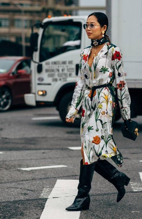 Платье из шифона: образ для осени или весны