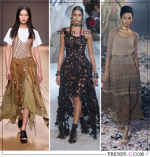 Образы от Salvatore Ferragamo, Alexander McQueen Christian Dior для весны и лета 2019