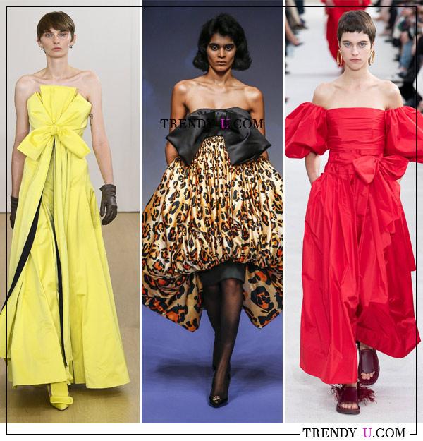 Вечерние платья от Emilia Wickstead, Richard Quinn и Valentino SS 2019