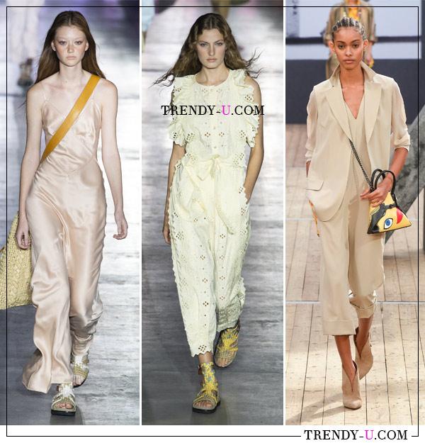 Модные комбинезоны весна-лето 2019 в коллекциях Alberta Ferretti и Akris