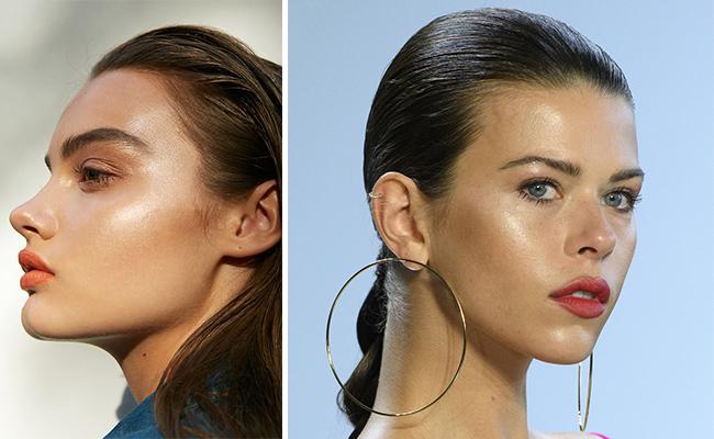 Гладкая кожа макияж