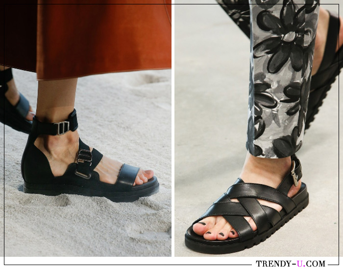 Модные сандалии от Hermès и Michael Kors SS 2019