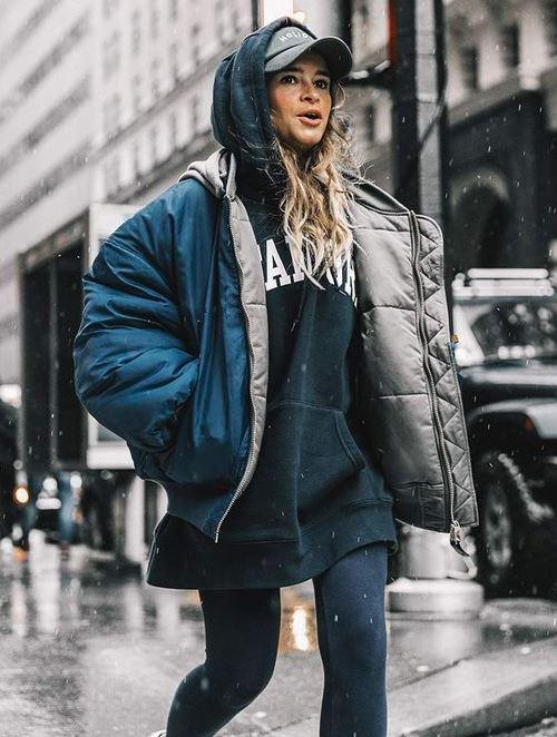 Худи и зимняя куртка