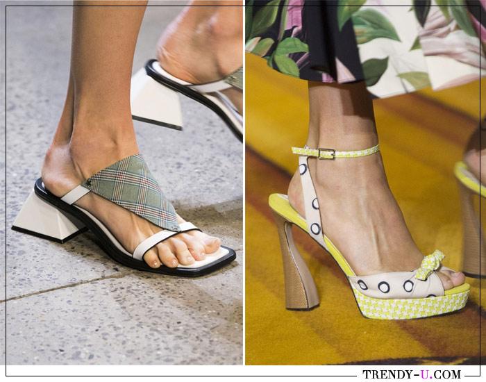 Модная обувь сезона весна-лето 2019 из коллекций Concept Corea и Christian Siriano