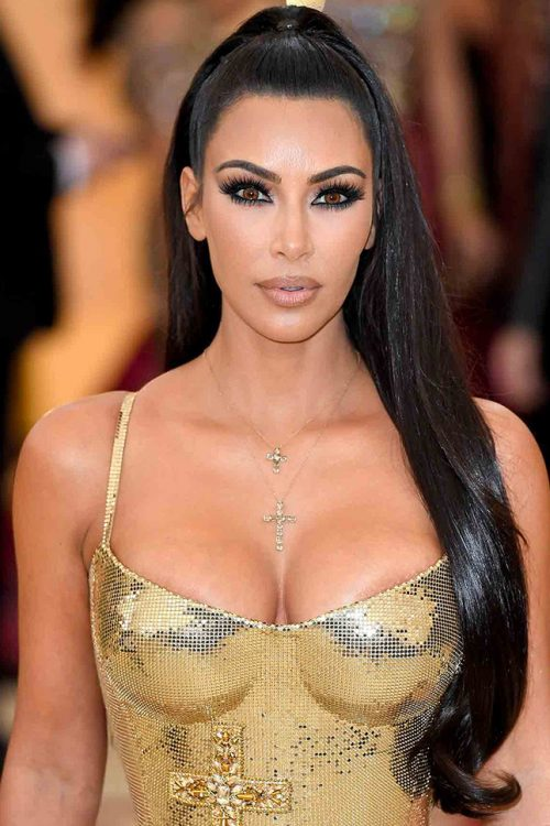 Ким Кардашьян макияж