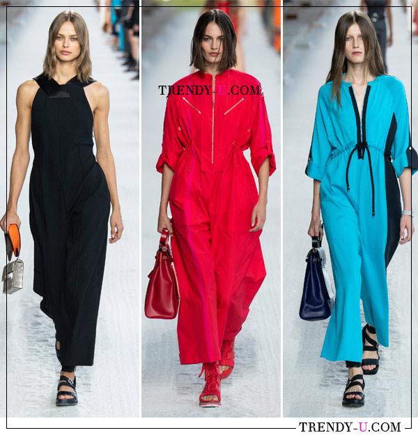 Модные комбинезоны Hermès SS 2019