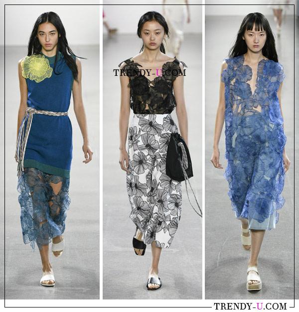 Модные образы для весны и лета 2019 от Claudia Li