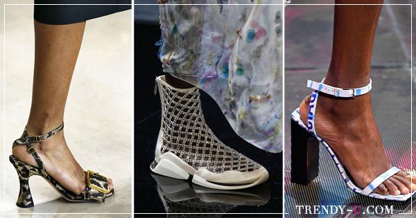 f4d63677b5b4a4 Модная обувь весна-лето 2019: 9 эффектных или удобных трендов | Trendy-U