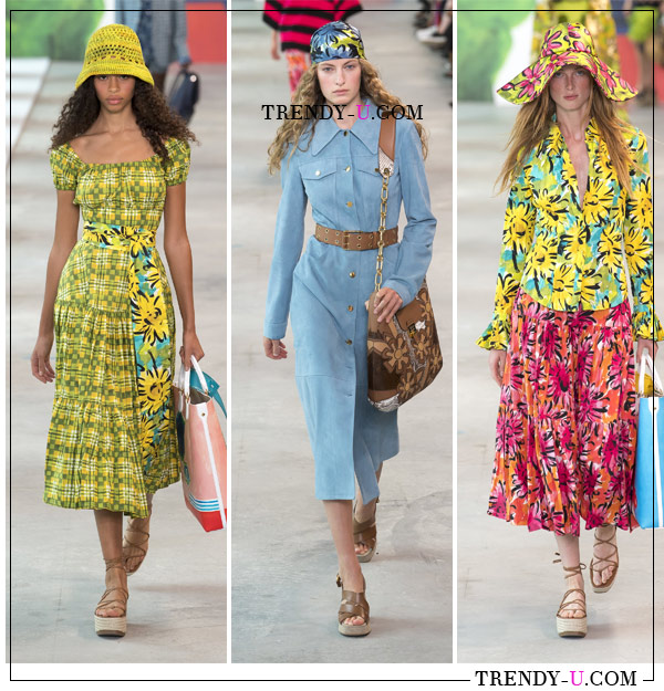 Шляпки Michael Kors Collection SS 2019