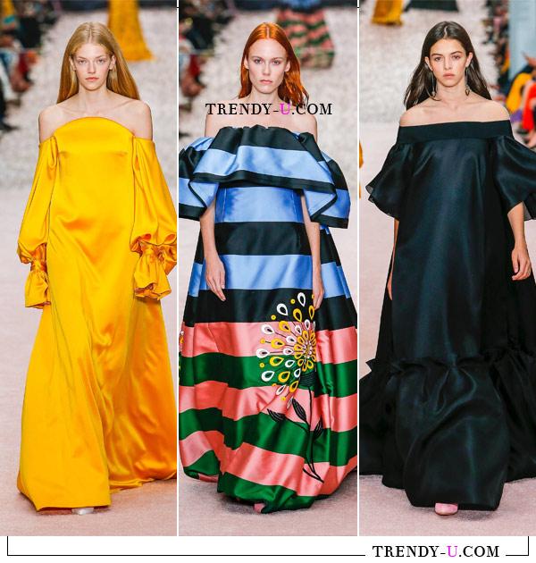 Вечерние платья от Carolina Herrera весна-лето 2019