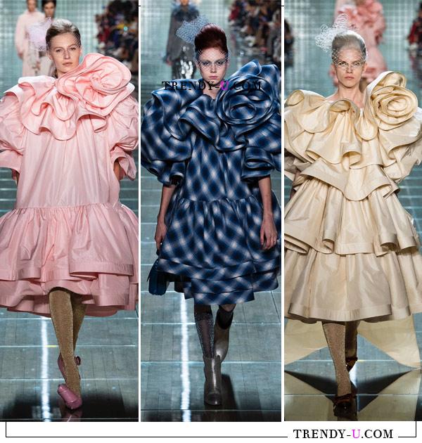 Модные вечерние платья Marc Jacons весна-лето 2019