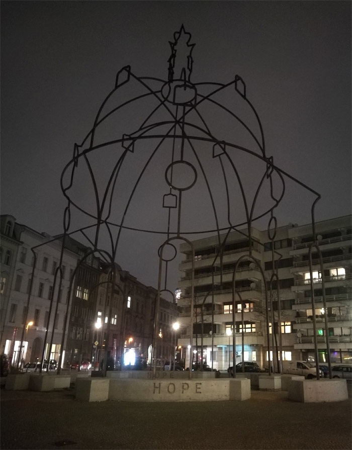 Инсталляция в Берлине