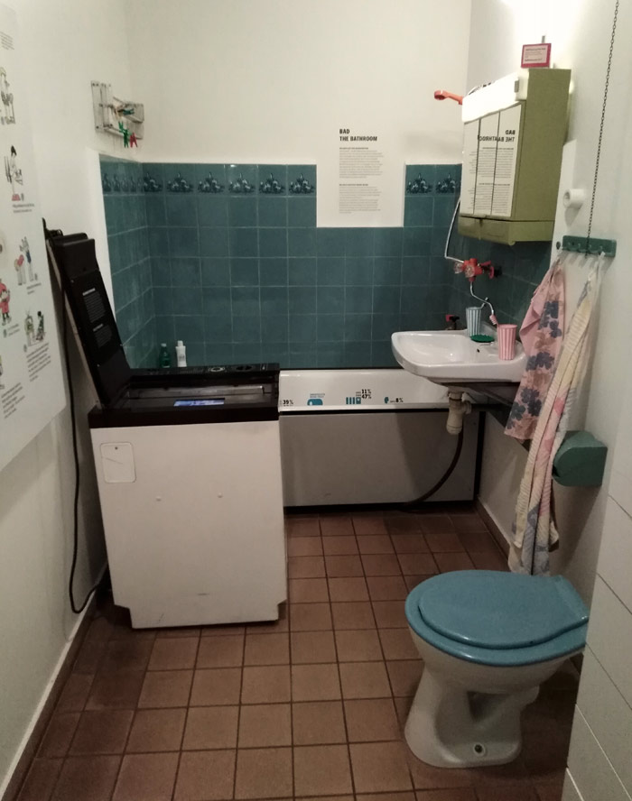 Туалет восточных берлинцев времен ГДР