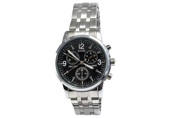 Наручные часы на стальном браслете