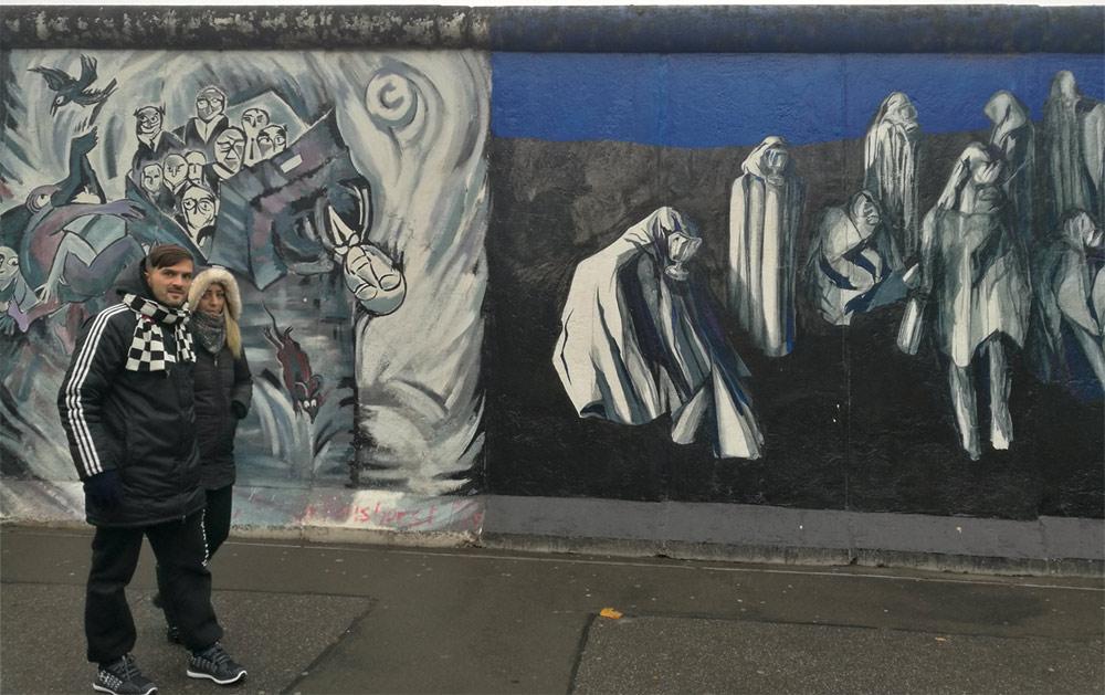 Берлинская стена (East Side Gallery)