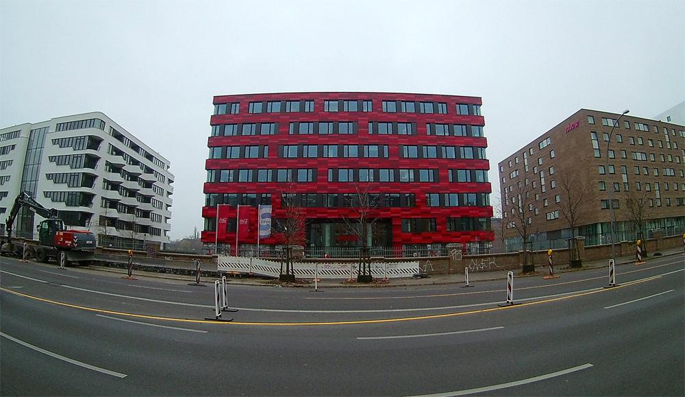 Здание офиса Coco-Cola в Берлине