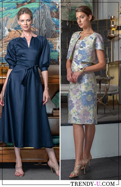 Платье и костюм от Barbara Tfank для делового гардероба женщины 2019