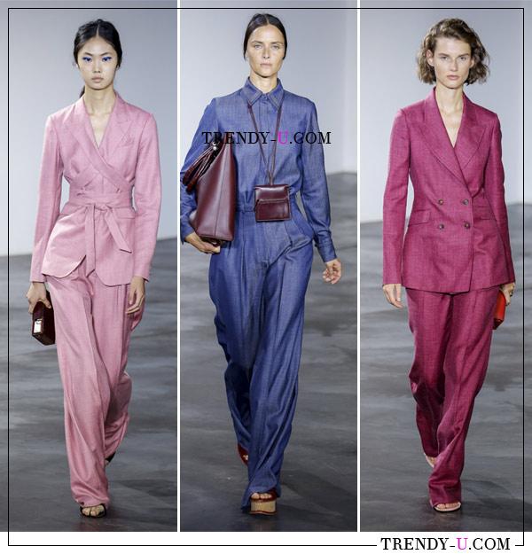 Модная деловая одежда из весенне-летней коллекции Gabriella Hearst