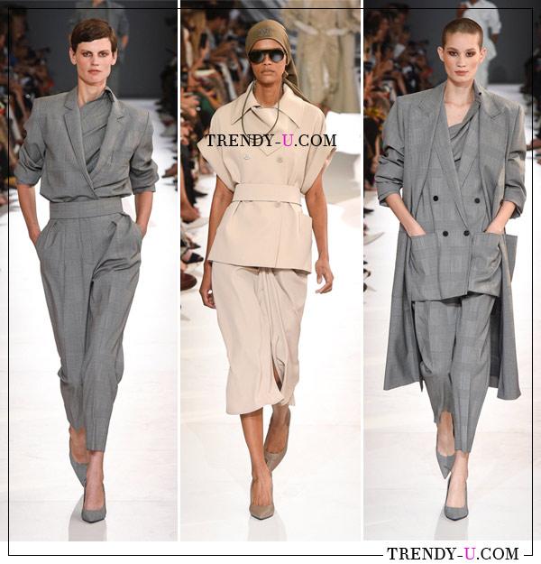 Женская деловая одежда в коллекции Max Mara SS 2019