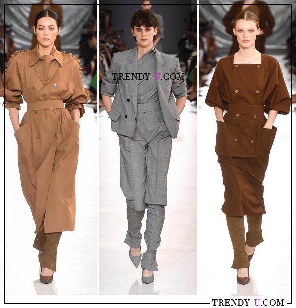 Модная женская одежда для офиса весна-лето 2019 Max Mara