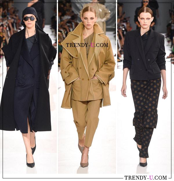 Модная женская деловая одежда в коллекции Max Mara весна-лето 2019