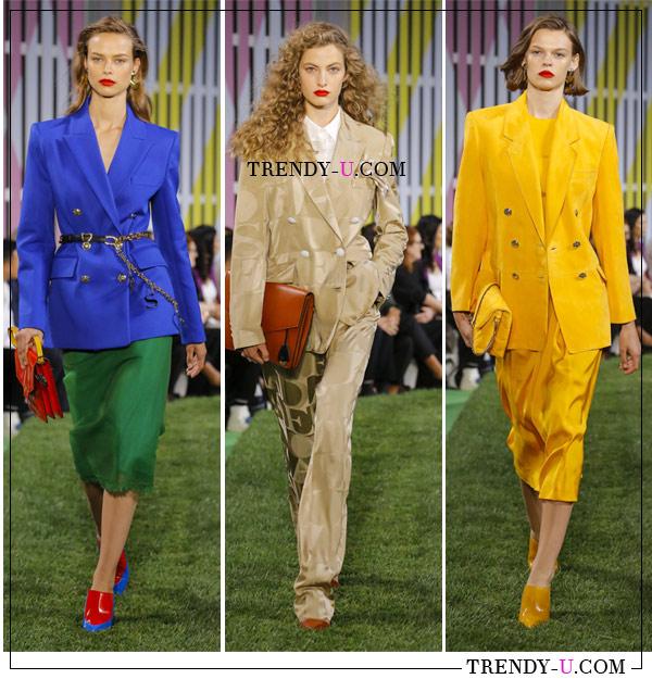 Стильная деловая одежда от Escada весна-лето 2019