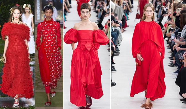 Красное платье идеи образов