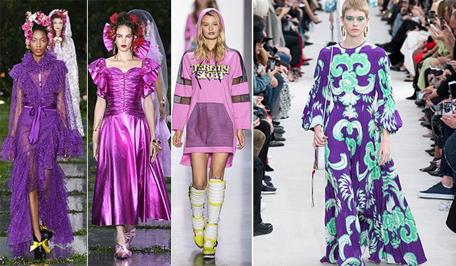 Ультрафиолет платья