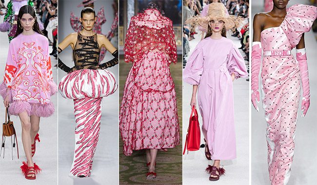 Розовые платья в тренде