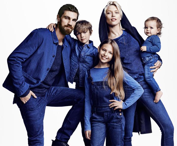 Деним от H&M для всех возрастов