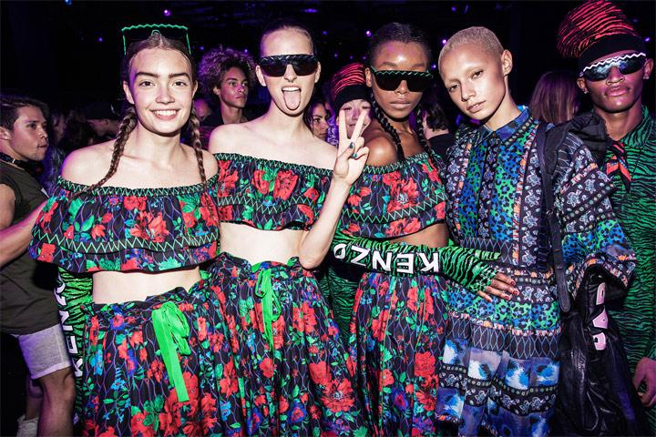 Одежда от H&M в коллаборации с Kenzo