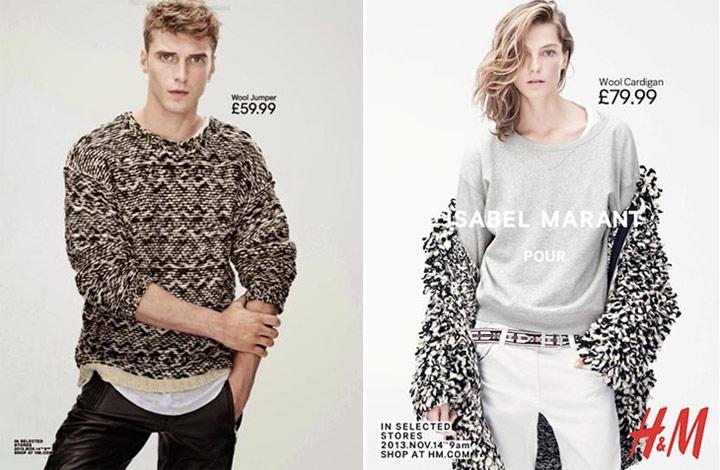 Коллаборация H&M и Isabel Marant
