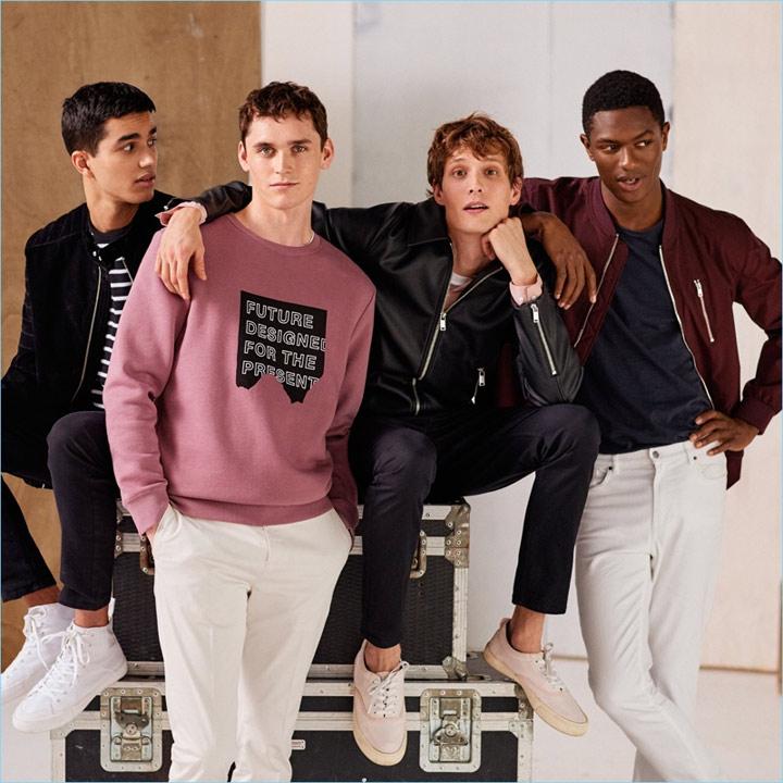 Мужская одежда H&M