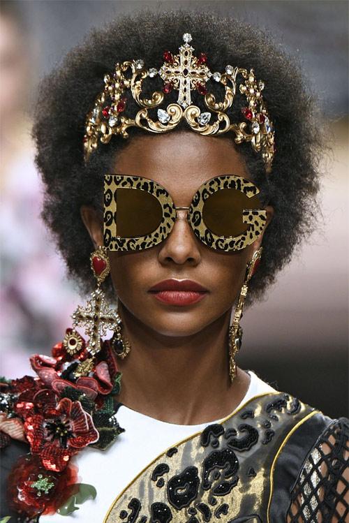 Модные солнцезащитные очки от Dolce & Gabbana для весны и лета 2019