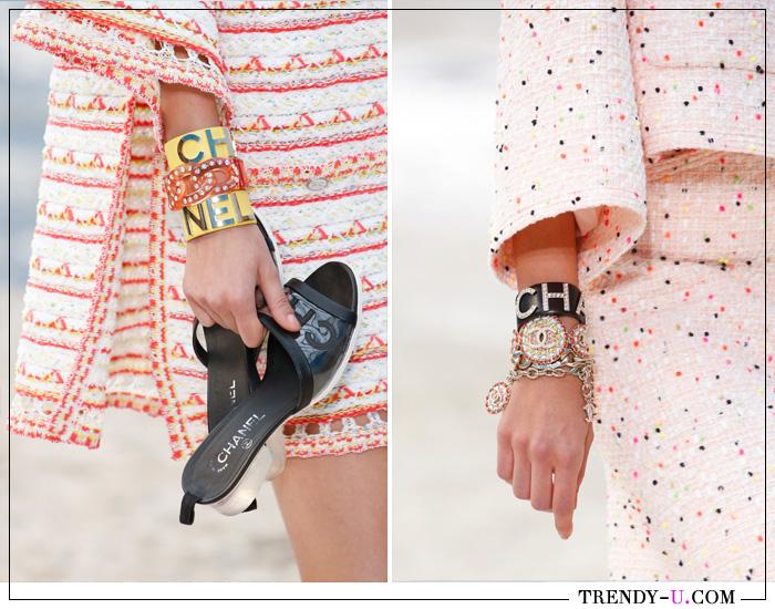 Модные браслеты от Chanel 2019