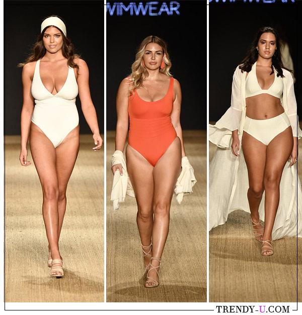 Модные модели купальников для полных из коллекции Monday Swimwear 2019