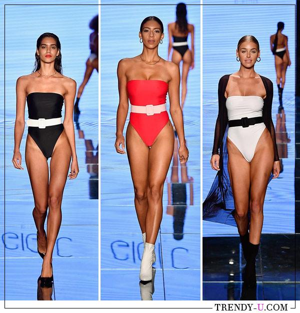 Закрытые купальники Gigi C для лета 2019